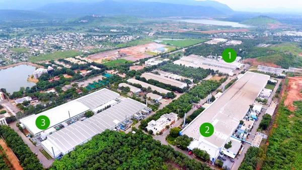 Lithium Ion Cells Plant At Tirupati