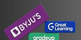After Aakash, Byju's Is Now All Set To Acquire Great Learning And Gradeup For USD 400 Million
